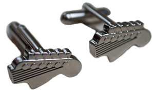 Guitar Head Cufflinks