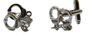 You're Nicked Cufflinks from FunkyCufflinks.Com