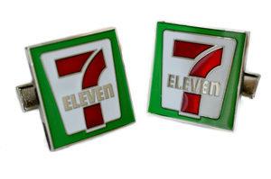 Seven Eleven cufflinks