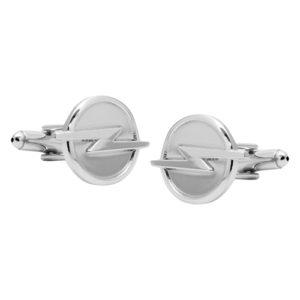 Opel Lightning bolt cufflinks